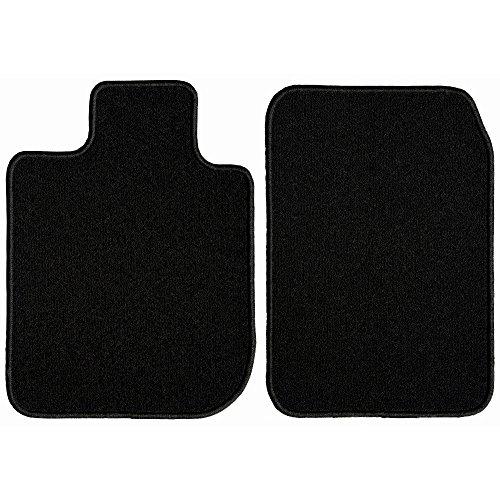 (GG Bailey D2409A-F1A-BLK Front Set Custom Fit Floor Mats for Select Honda Element Models - Nylon Fiber (Black))