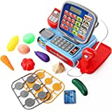 Kids Toy Cash Register,TRIEtree Simulation Supermarket Cash Register Calculator Children's Early Education Puzzle Toys