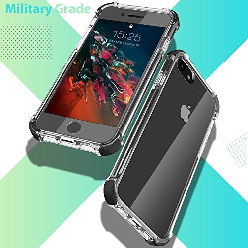 MATEPROX iPhone SE 2020 case iPhone 8 case iPhone 7 Case Clear Shield Heavy Duty Anti-Yellow Anti-Scratch Shockproof…
