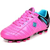 DREAM PAIRS Kid's Athletic Lace up Outdoor/Indoor Light Weight Running Soccer Shoes (Toddler/Little/Big Kid)