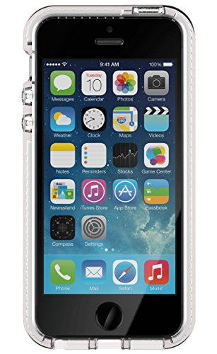 Tech21 Evo Mesh for iPhone 5/5s/SE - Clear/White