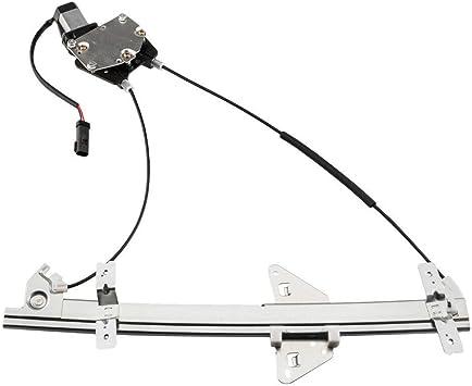 A-Premium Power Window Regulator without Motor for Dodge Dakota 2001-2004 Dodge Durango 2001-2003 Front Right Passenger Side