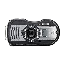 RICOH WG-5 16MP 14M Waterproof Digital Camera with 4x Optical Image Stabilized Zoom and 3-Inch LCD (Silver)