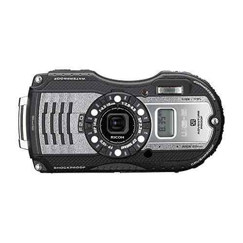 RICOH waterproof digital camera WG-5GPS gunmetal waterproof 14m withstand shock 2.2m cold -10 degrees 04651 by Ricoh
