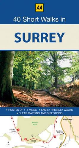40 Short Walks in Surrey. (30 Walks in)