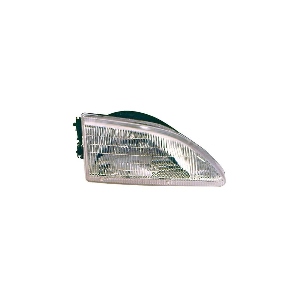 Vaip FD10097A1R Ford Mustang Passenger Side Replacement Headlight