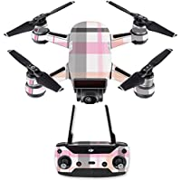 Skin for DJI Spark Mini Drone Combo - Plaid| MightySkins Protective, Durable, and Unique Vinyl Decal wrap cover | Easy To Apply, Remove, and Change Styles | Made in the USA