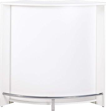 SIMMOB snack106bl Mueble de Acoplamiento/Comptoir de Cocina/Mueble Bar Madera Blanco 53,3 x 106,9 X 104,8 cm: Amazon.es: Hogar