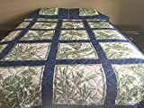 King Hawaiian Quilt bedding Comforter 100% cotton patchwork with two pillow shams