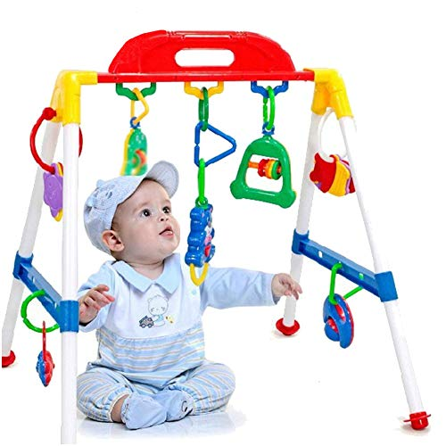 Aland-Baby Gym Cross Bar Triangle Round Ring Playgym Toys Educational Kids Xmas Gift
