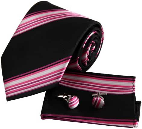 EAC1A03 Fantastic Fabric Silk Tie for Mens Various of Colors Gift Set By Epoint