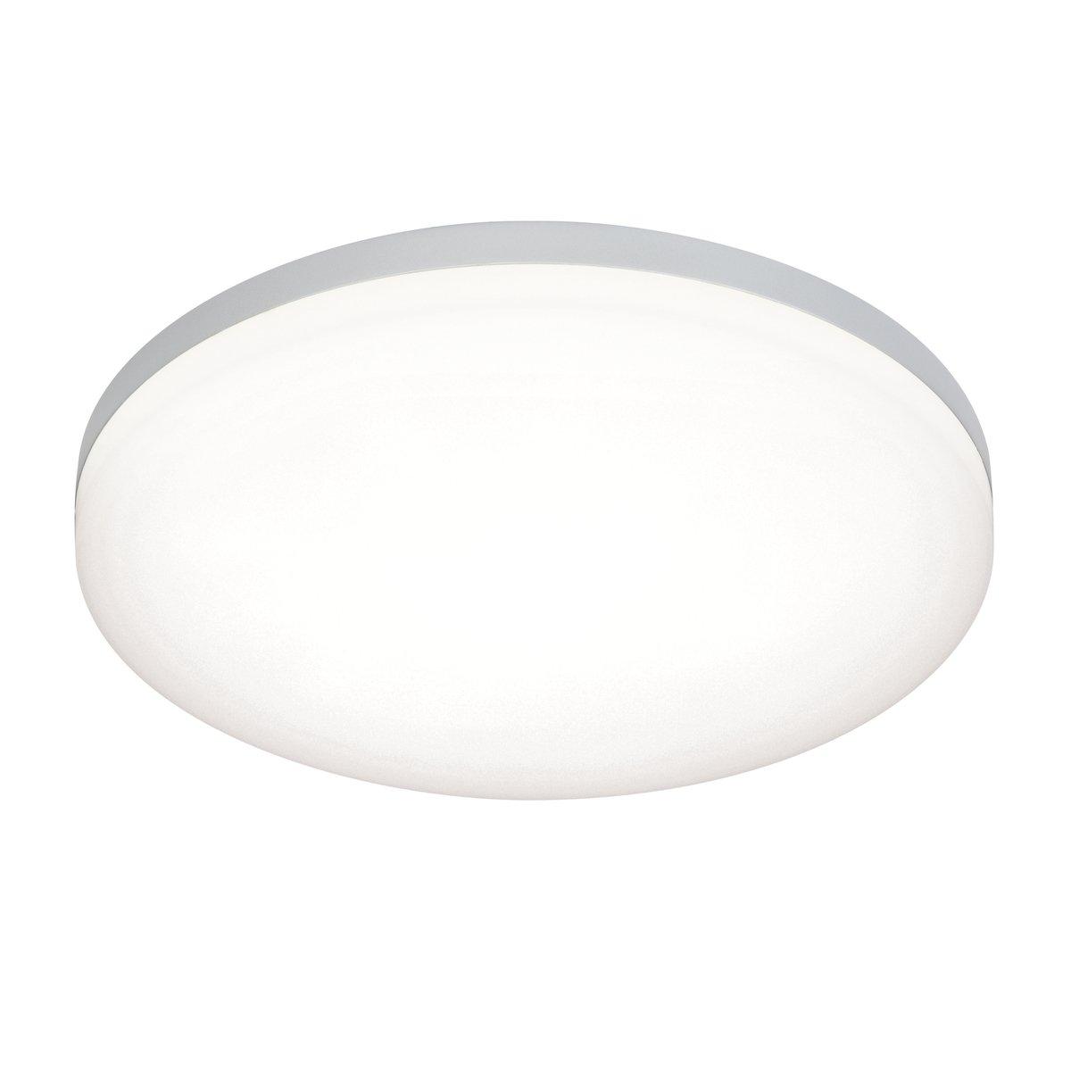 Modern 22W Super Slim Round Flush SMD LED 1900 Lumens Bathroom Ceiling Light IP44 Rated [Energy Class A] National Lighting