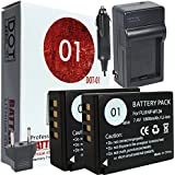 2x DOT-01 Brand Fujifilm X-T20 Batteries and Charger for Fujifilm X-T20 Mirrorless Digital Camera and Fujifilm XT20 Battery and Charger Bundle for Fujifilm NPW126 NP-W126