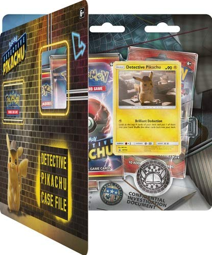 Pokemon Detective Pikachu: Case File Blister Set: 3 Booster Packs