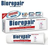Biorepair Fast Sensitive Repair Toothpaste 75ml (Pack of Two) Repairs Damaged Tooth Enamel and Prevents Plaque and Tartar From Forming – Help with Sensitivity