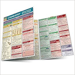 Chemistry Equations & Answers (Quickstudy Reference Guides ...
