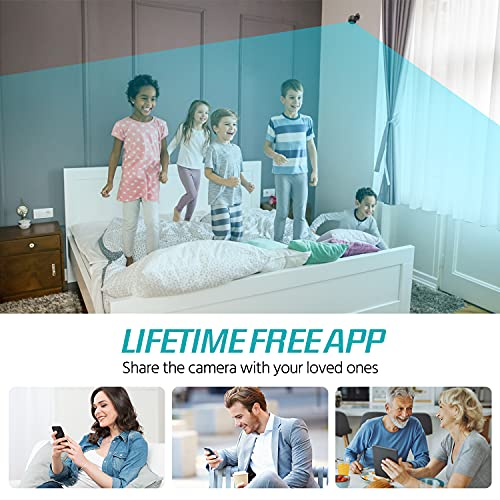 Mini Spy Camera 1080p Hidden Camera With Audio Live Feed Wifi, Portable Night Vision And Motion Detection Wireless Small High-Definition Nanny Cam, Indoor Secret Surveillance Camera For Home or Office