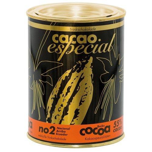 Becks - Cocoa - Chocolate carga bio Cacao especial no 2 (lata de 250 g: Amazon.es: Alimentación y bebidas