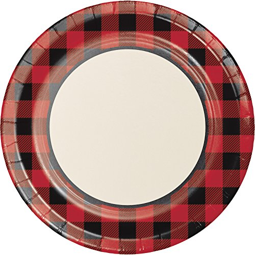 Buffalo Plaid Banquet Plate, 24 ct -