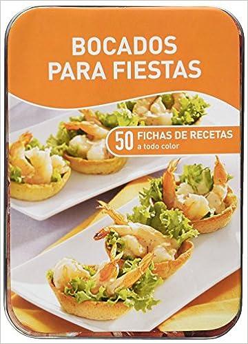 BOCADOS PARA FIESTAS (CAJAS DE RECETAS) (NUEVA ED.): NGV: 9783625002598: Amazon.com: Books