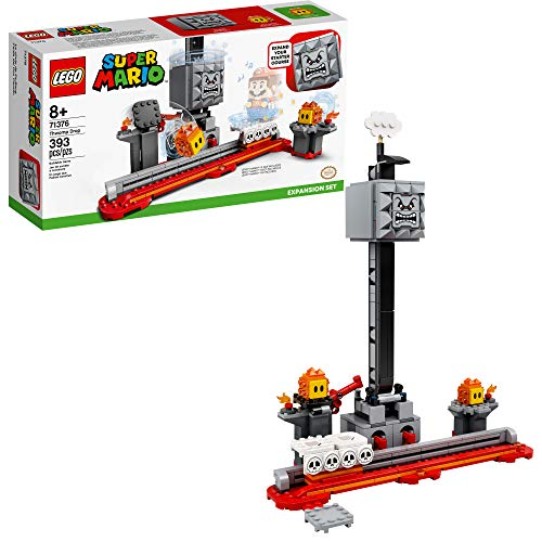 LEGO Super Mario Thwomp Drop Expansion Set 71376 Building Kit; Collectible Playset for Creative Kids to Add New Levels…