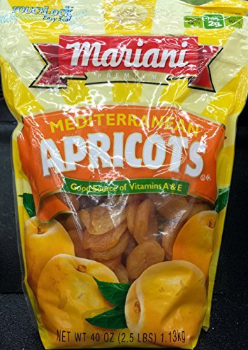40oz Mariani Premium Mediterranean Apricots (Pack of 1) by Mariani