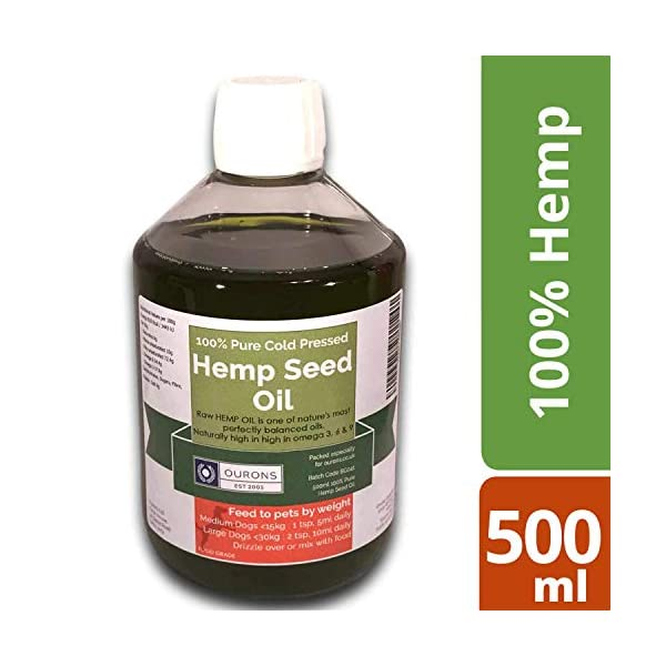 Ourons Hemp Oil for Dogs 500ml