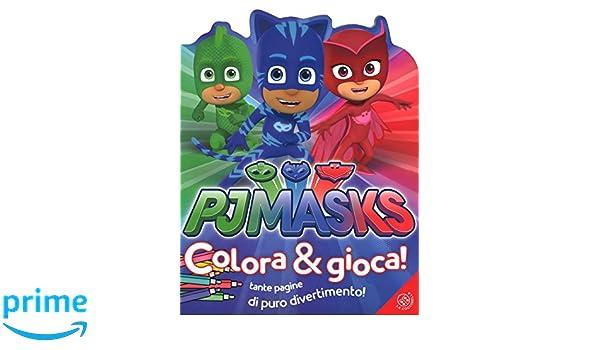 Pj Masks. Colora e gioca! Ediz. a colori: Amazon.es: Libros en idiomas extranjeros