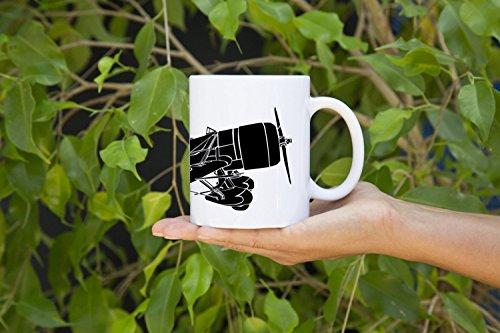 KillerBeeMoto: 11 Oz Coffee Mug Gee Bee Senior Sportster Racing Plane Mug (White) ()