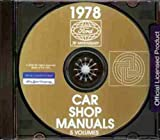 1978 MERCURY & LINCOLN REPAIR SHOP & SERVICE MANUAL CD INCLUDES: Bobcat, Zephyr, Monarch, Versailles, Cougar, Cougar XR 7, Mercury Marquis, Mercury Marquis Brougham, Continental Mark V and Lincoln Continental, Convertible, Station Wagon.