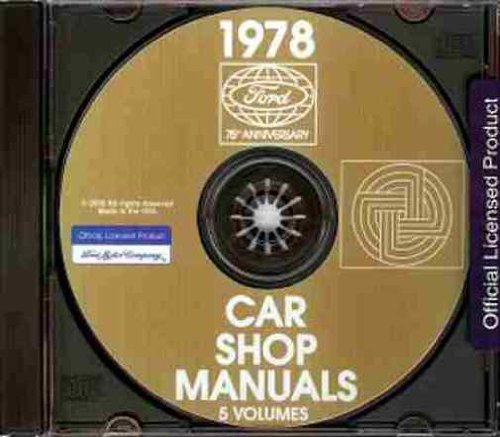 1978 MERCURY REPAIR SHOP & SERVICE MANUAL CD - Town Car, Bobcat, Marquis, Grand Marquis, Brougham, and (Mercury Bobcat Car Radiator)