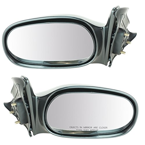 Manual Side View Mirrors Left & Right Pair Set for 98-02 Toyota -
