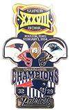 Super Bowl XXXVIII Oversized Commemorative Pin