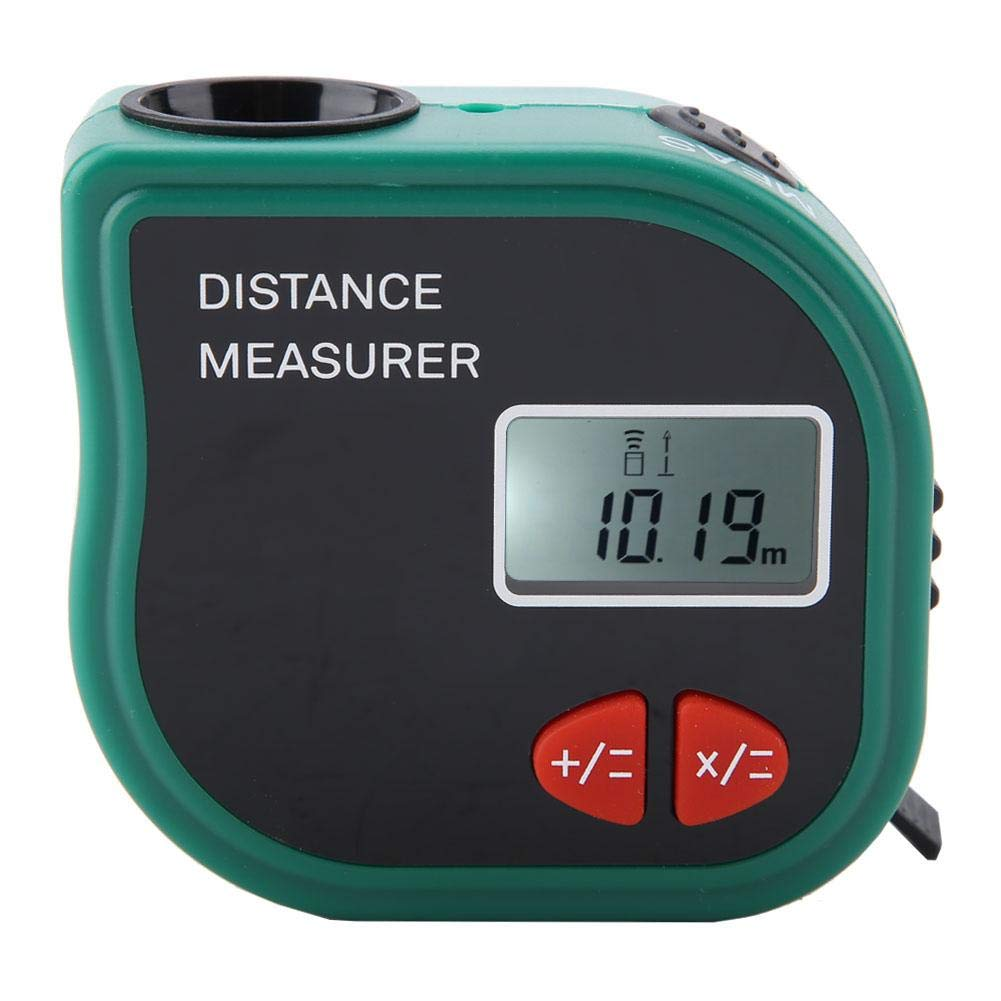 Medidor ultrasónico de cinta, Lcd portátil Medidor ultrasónico de distancia Medidor Medición electrónica de cinta Equipo de medición Medidor ultrasónico portátil