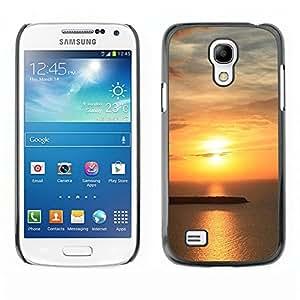 Paccase / SLIM PC / Aliminium Casa Carcasa Funda Case Cover - Sunset Beautiful Nature 62 - Samsung Galaxy S4 Mini i9190 MINI VERSION!