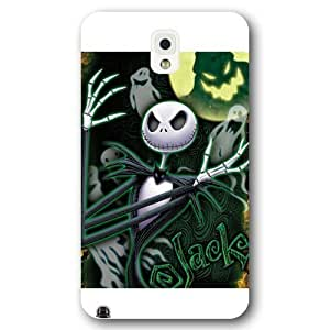 UniqueBox Customized Disney Series Case for Samsung Galaxy Note 3, The Nightmare Before Christmas Samsung Galaxy Note 3 Case, Only Fit for Samsung Galaxy Note 3 (White Frosted Shell)