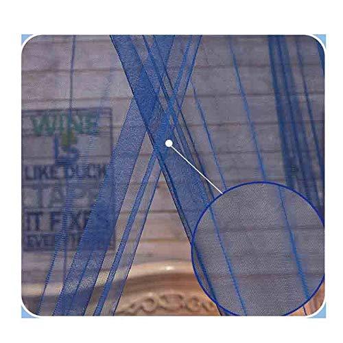 LeiQuanQuan Kuppeldachennetz, Kuppeldachennetz, Kuppeldachennetz, Bettanhänger Prinzesschen Moskitonetz, Geeignet Für 1,5 M Bett, Blaues Traumdesign 012585