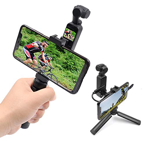 STARTRC OSMO Pocket Aluminum Handheld Mobile Phone Tripod Holder with Type C USB Cable + Micro Adapter for DJI OSMO Pocket Camera