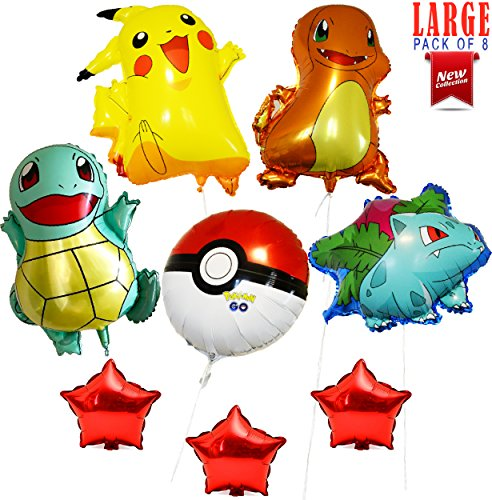 Large Pokemon Balloons |26