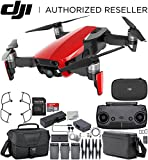 DJI Mavic Air Drone Quad Copter Fly More Combo (Flame Red) Travel Bundle Review