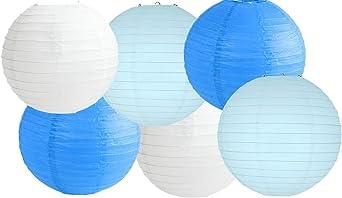 28 Pezzi Set di Palloncini Gelato Festa Ciambella Lanterne di Carta Appese Confetti Sparsi Lanterne Carta 12 Pollici Palloncini per Festa Gelato Ciambella Baby Shower Compleanno Decorazione di Nozze