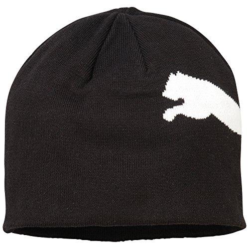 Puma Kinder Mütze Big Cat/No.1 Logo Beanie, Black-Big Cat, OSFK, 834016 42