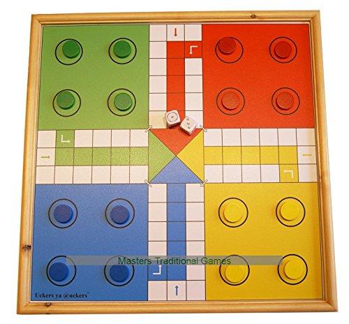 Wooden Uckers Game