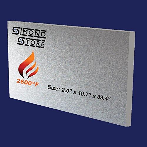 Ceramic Fiber Board 2600°F - 2.0 Inch X - Refractory Fiber Shopping Results