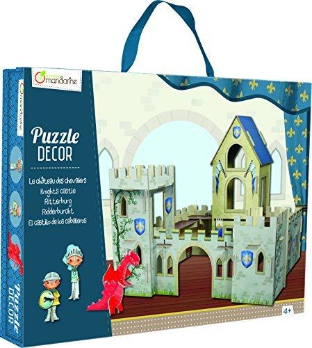 Avenue Mandarine Knights Castle 3D Scene Puzzle by Avenue Mandarine