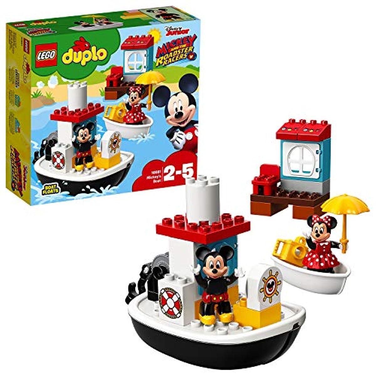 [해외] 레고(LEGO)듀플로 미키와 미니의 해피버스데이 보트 10881