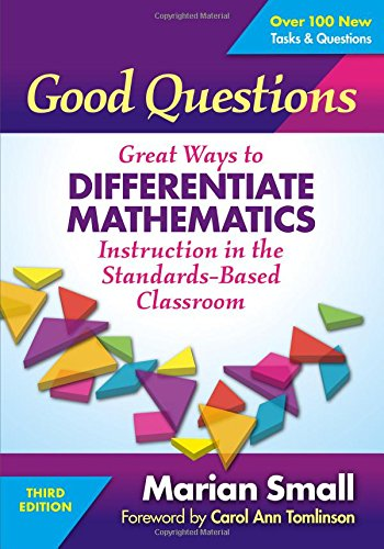 Pdf Teaching Good Questions: Great Ways to Differentiate Mathematics Instruction in the Standards-Based Classroom
