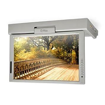 39cm (15 Zoll) LCD DVB-T Unterbau Küche Fernseher Radio DVD-Player ...