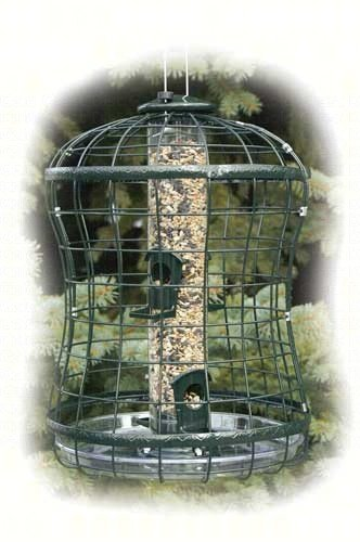 2 PACK Caged Seed Tube Feeder by Woodlink