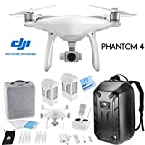 DJI Phantom 4 Advanced Quadcopter Drone w/ Hardshell Backpack + Spare Intelligent Flight Battery Bundle